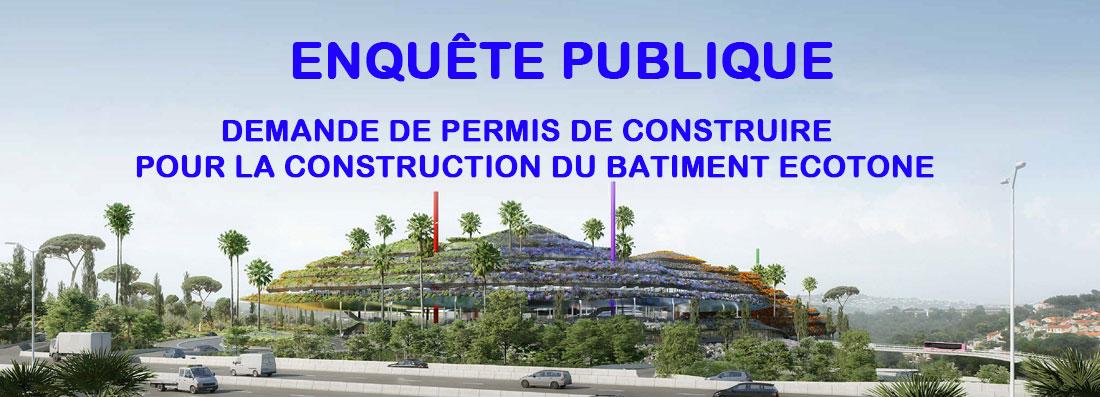 Enquête Publique - Projet Ecotone